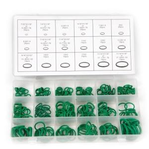 KING K15094 Кольцо шт.   Кругл. сечен. Резин. маслост. зелён.   7,68-11,24-1,78mm
