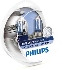 PHILIPS 12342CVSM ЛАМПА К-Т H4    60/55W +2*5W  CRISTAL VISION