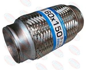 POLSKI 4780 ГОФРА   Глушителя 60mm L-150mm  -