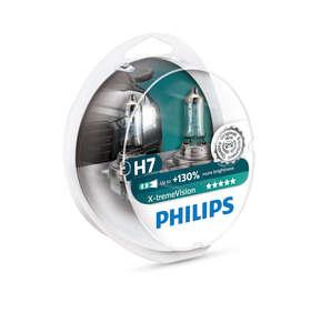 PHILIPS 12972XV -SET!!! ЛАМПА К-Т H7  55W +130%  X-tremeVision +130%  к-т2шт!!!