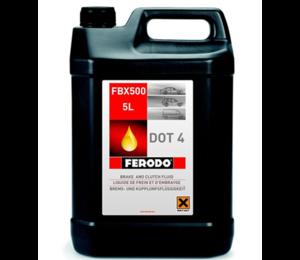 FERODO FBX500 ТОРМ. ЖИДКОСТЬ DOT-4  FERODO  5,00L