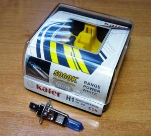KAIER K33670 Лампа к-т H11  55W   5000K SUPER WHITE  RANGE POWER WHITE
