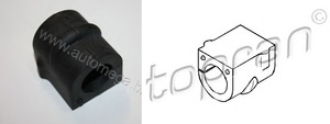 TOPRAN 206102 ВТУЛКА   Стаб. Пер.в куз. OP*ZF  D=23,0mm
