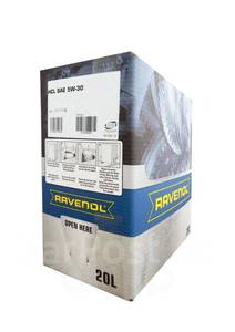 RAVENOL HCL-20L Масло авто моторн.    5W30 HCL  1L   (BOX 20L)  СИНТ.