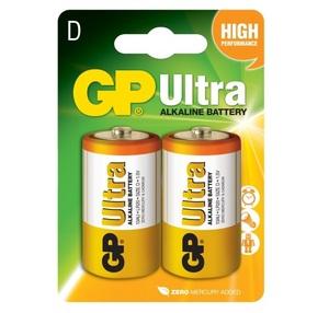 GP 13AU U2 Батарейка   Стандартные ALKALINE 13AU U2   1.5V Ultra (в блист. 2шт.)