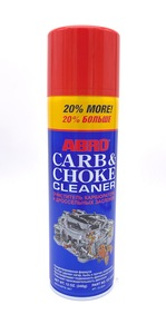 ABRO CC-220 Очиститель   Топл. сист. карбюратора (нар) +20%  CARB &  CHOKE CLEANER