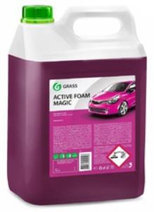 GRASS 110324 Шампунь-авто AUTO ACTIVE FOAM MAGIC  6kg  ДЛЯ БЕСКОНТ. МОЙКИ.