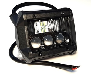 КИТАЙ K42881 Фара   Пр./Тум. Диод.   5-LED прямоуг. Бел.  Напр. свет / рассеян. (1/2 K42879)