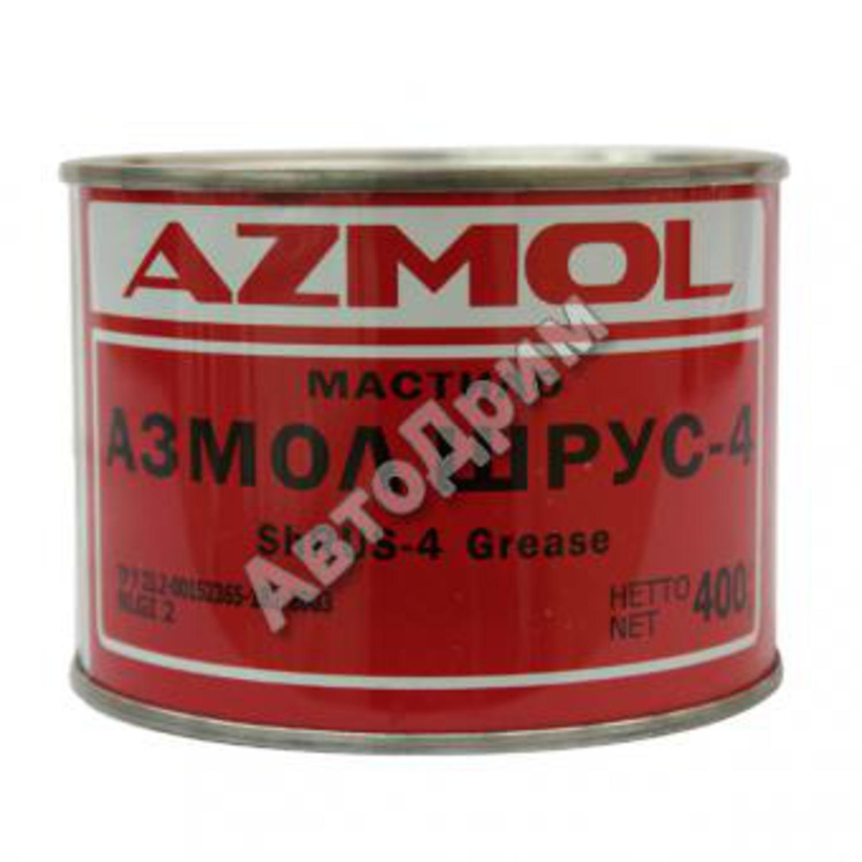 AZMOL non code Смазка   Литиев. ШРУС 0,400кг  с молибденом, (банка)