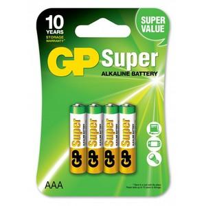 GP 24A U4 Батарейка   Стандартные ALKALINE 24A U4   1.5V (в упак. 4шт.)