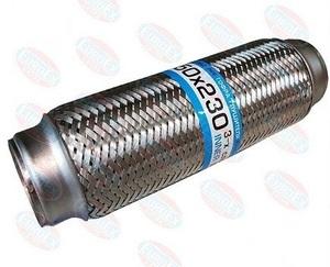 JMJ 50X230P ГОФРА   Глушителя 50mm L-230mm  -