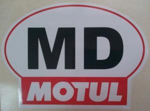 -------  K23244 НАКЛЕЙКА   Знак MD знак  MOTUL