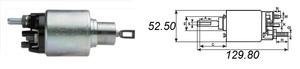 AS-PL SS0042 РЕЛЕ ВТЯГИВАЮЩЕЕ F*TRS  06-/MB*SPR/VIT/VAR  12V BOSHC  -06 CDI