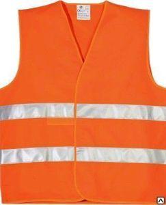 ALCA 549.000 Жилет   Светоотраж. Европейск. стандарт  оранж