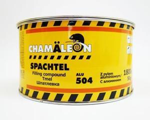 Chamaleon 15046 Шпатлёвка Alu - 1,85 кг.  2-комп. полиэфир, содерж. алюмин.
