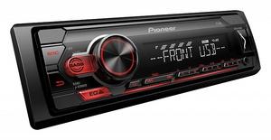 PIONEER MVH-S110UB МАГНИТОЛА АВТО без CD/DVD большая  USB/AUX (красная подсветка)