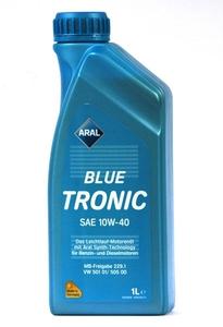 ARAL 20488/14F736 Масло авто моторн.   10W40 BLUE TRONIC 1L  П/СИНТ