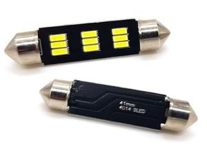 КИТАЙ K21218 Диод световой 12v   C10W (SV8,5) L=41mm   9-ср led  Подсв. салона, багажн., номерн. знака.