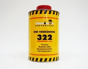 Chamaleon 13225 Растворители Акриловый Uni - 1.0л.  Д/акрил. продукт. и базов.красок