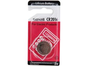 MAXELL CR2016 Батарейка   Литиевая LITHIUM CR2016   3V (в блист. 1шт.)