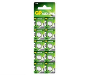GP 189 U10 Батарейка   Для часов Alkaline Cell 189 U10   3V (в блист. 10шт.)
