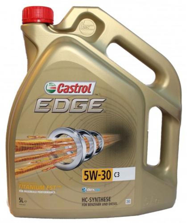 CASTROL EDGE-5L Масло авто моторн.    5W30 EDGE  5L  C3  СИНТ.