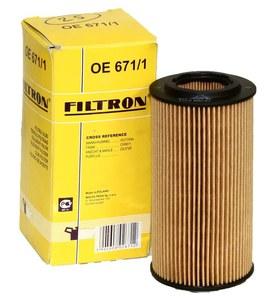 FILTRON OE671/1=OE671/3 ФИЛЬТР МАС. VW*/A* / VL* / F* 2,0-2,5FSI/TFSI/2,4D  -