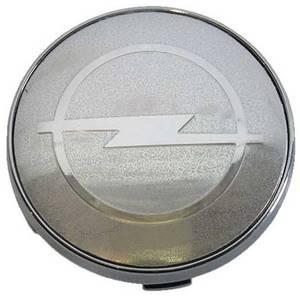 КИТАЙ K45311 Колпачок   На диск OPEL (серебр.фон. / хром. знак)  D=55mm