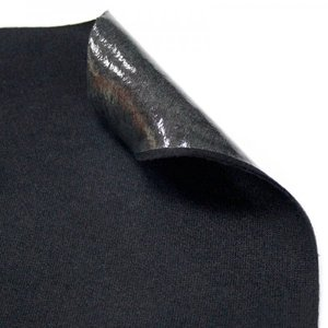 COMFORT GRUP COMFORT GRILLON МАТЕРИАЛ АНТИСКРИП (черный)  (ткань с клеевым слоем)