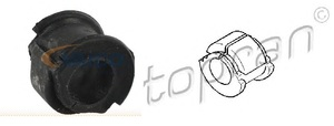 TOPRAN 104320 ВТУЛКА   Стаб. Пер.в куз. A*80  91-  D=25,0mm