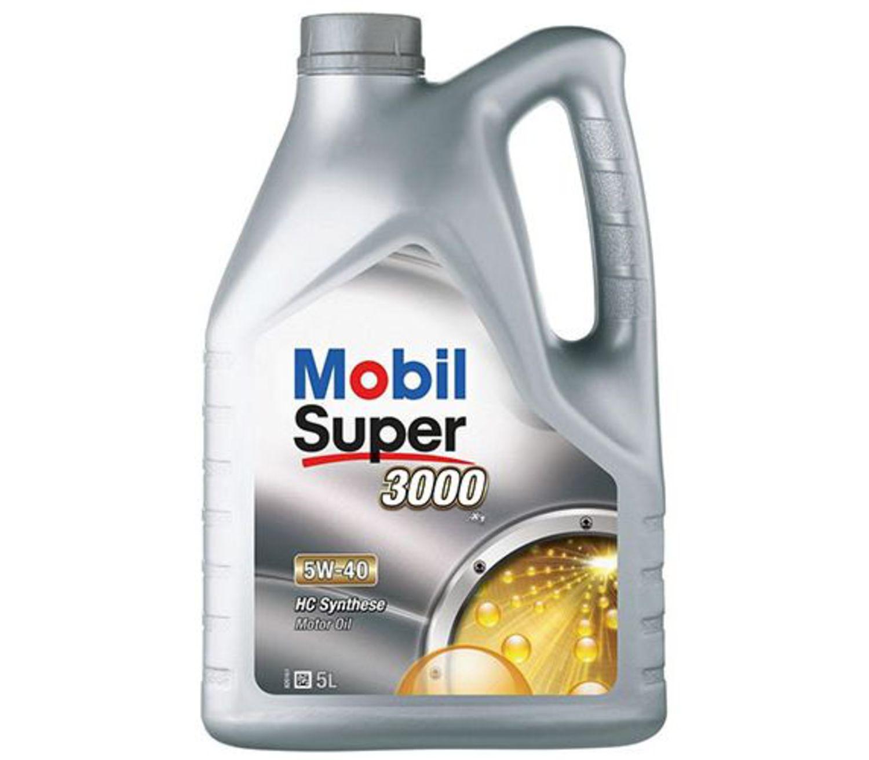 MOBIL SUPER 3000-5L Масло авто моторн.    5W40 SINT S (super 3000)        5L  СИНТ.
