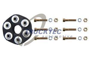 TRUCKTEC AUTOMOTIVE 02.34.003 Муфта   Эластичная MB*201/124  пер  37*132*24  90mm