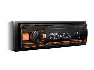 ALPINE UTE-200BT МАГНИТОЛА АВТО без CD/DVD +BLUETOOTH  USB/AUX