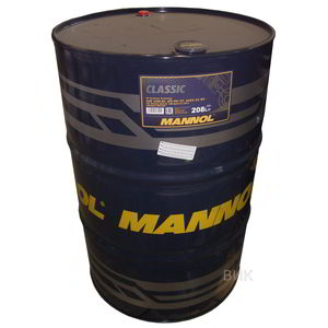 MANNOL CLASSIC-208L Масло авто моторн.   10W40 CLASSIC  1L (208L)  П/СИНТ