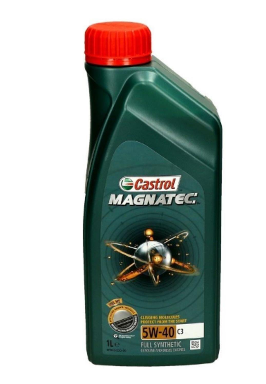 CASTROL MAG-1L Масло авто моторн.    5W40 MAGNATEC 1L  C3  СИНТ.