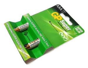 GP 24A U2 Батарейка   Стандартные ALKALINE 24A U2   1.5V 1150 мАч (в упак. 2шт.)