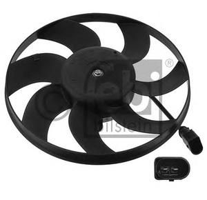 NRF 47418 Вентилятор   Сист.охлаж. Рад. VW*T4  2-конт. D=280mm
