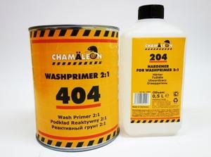 Chamaleon 14045 Грунт   2-х комп. Кислот. Wach primer 1,0л+ отв.12044 0,5л  2-комп. реактивный, (антикороз.) 2:1