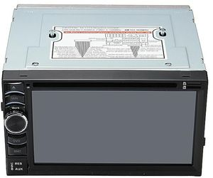КИТАЙ K40716 Магнитола авто без CD/DVD 2DIN  USB/SD/AUX/DVD/GPS/TV