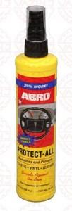 ABRO PA-510 ПОЛИРОЛЬ   Торпеды Спрей-молочко 295ml  Без запаха, очищ. защищ. восстанавл.