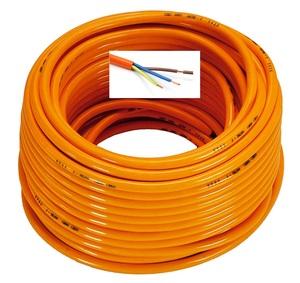 GENERAL CAVI H07BQ-F 3G1,5 ПРОВОД   Питание 12V / 220V СИЛОВОЙ КАБЕЛЬ (Медь)  Оранжевый, особо прочный 3*1,5мм кв.