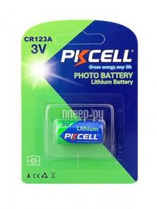 PKCELL CR123A-1B Батарейка   Литиевая LITHIUM CR123A-1B  1500mAh   3V (в блист. 1шт.)