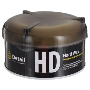 DETAIL DT-0155 Полироль   Кузова Твёрдый воск (банка с губкой)  Hard Wax