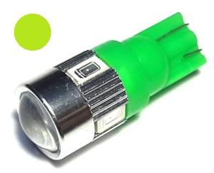 КИТАЙ 70000282 Диод световой 12v   W3W (W2,1x9,5d) Зел.  4-led