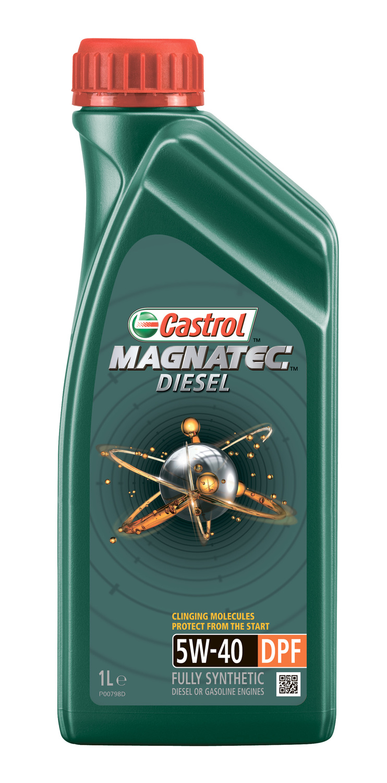 CASTROL MAG D-1L Масло авто моторн.    5W40 MAGNATEC diesel 1L  DPF  СИНТ.