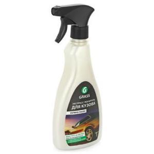 GRASS 340034 ПОЛИРОЛЬ   Кузова Спрей 500ml Express polish, с воском Карнаубы  По сухой и мокрой поверхности