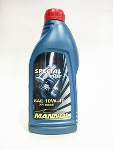 MANNOL SPEC + 1L Масло авто моторн.   10W40 SPECIAL PLUS  1L  Минерал.
