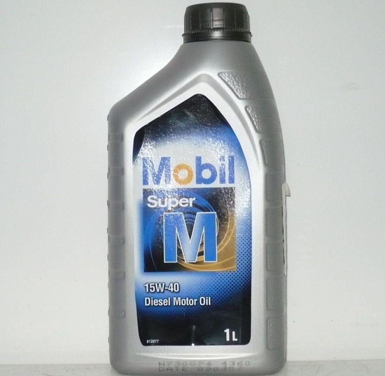 MOBIL SUPER D-1L Масло авто моторн.   15W40 SUPER M (diesel)          1L  Минерал.
