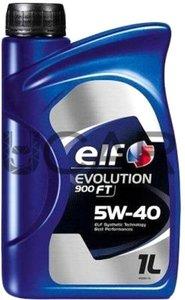ELF 900 FT-1L Масло авто моторн.    5W40 EVOLUTION  900 FT     1L  СИНТ.