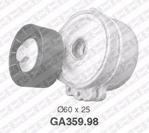 SNR GA359.98 Ролик   Руч.рем. CTR*BRL/XSR/JMY / PG*PRT1,9D-2,2HDI натяж.  Глад. с/мех.